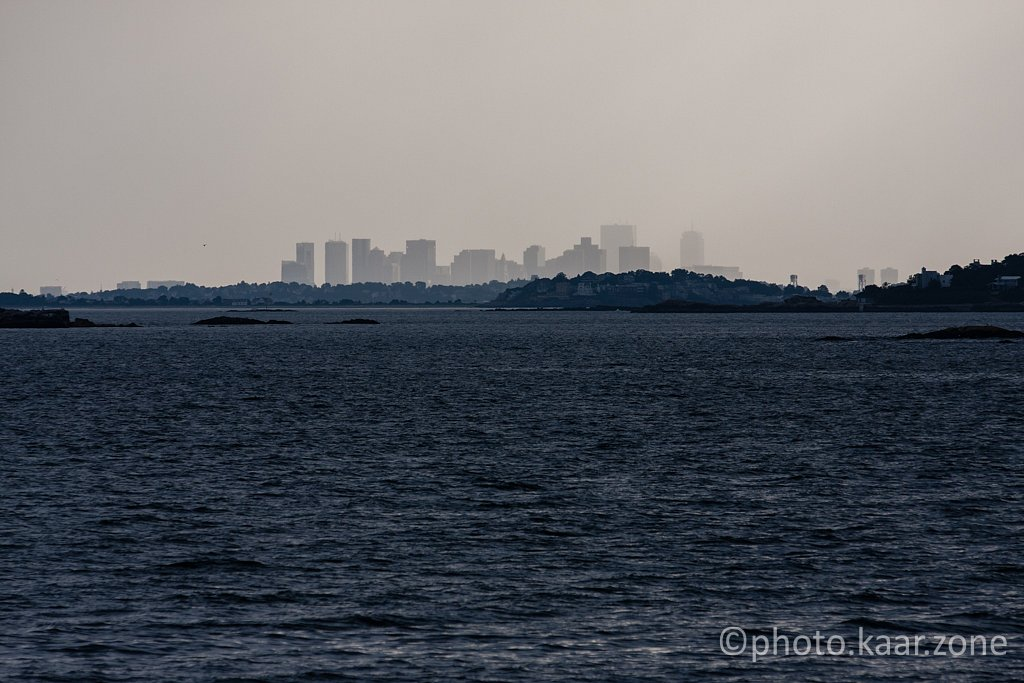 Boston Skyline from Marblehead